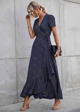 Платье в цветочек плаття