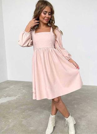 Шикарное платье, микровельвет