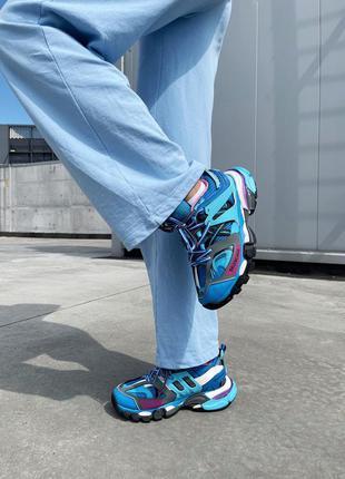 Кросівки track 3.0 blue pink кроссовки