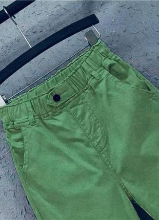 Яркие женские штаны брюки джинсовые повседневные котонновые брюки