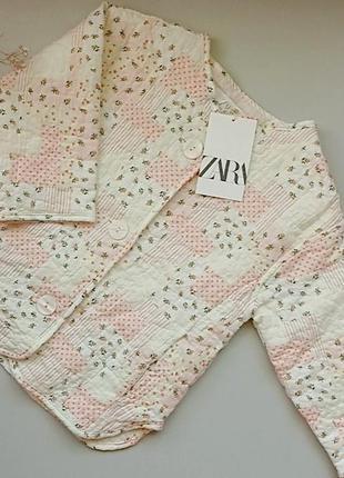 Курточка для девочки zara оригинал, с биркой с официального сайта. 3/4года