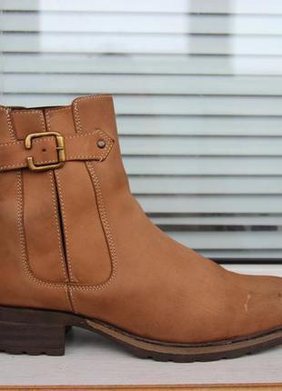 Кожаные ботинки (нубук) next