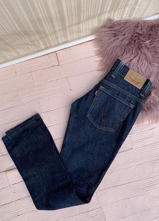 Джинсы levi's levis левис левайс скинни skinny синие  классические штаны брюки джинси