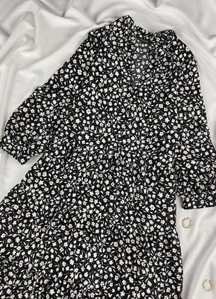 Ярусна сукня primark квітковий принт