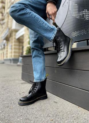 Черевики dr. martens classic black ботинки