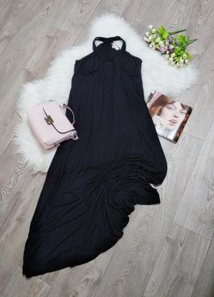 Женское длинное платье стрейчевое сарафан