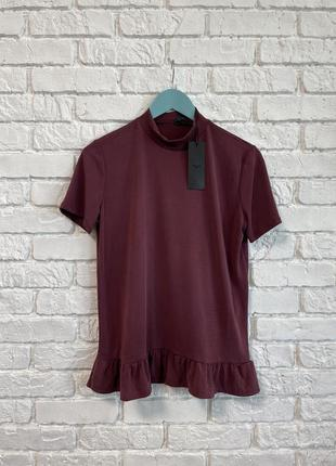 Лёгкая блуза 👚 цвет пыльная вишня 🍒
