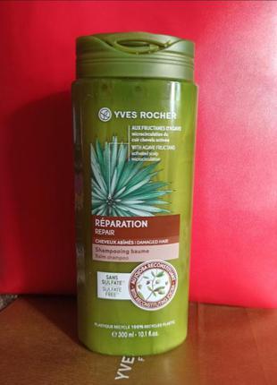 Шампунь для волос питание и восстановление yves rocher / ив роше