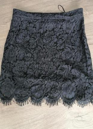 Спідниця юбка чорного кольору розмір виробника м нова з біркою 💃