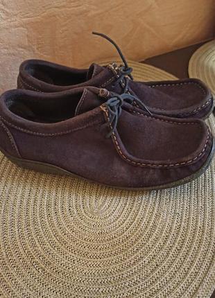 Замшевые мокасины туфли кеды ботинки