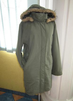 Утеплённая куртка- парка с капюшоном!!! очень много курток!!
