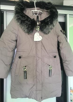 Куртка парка мех