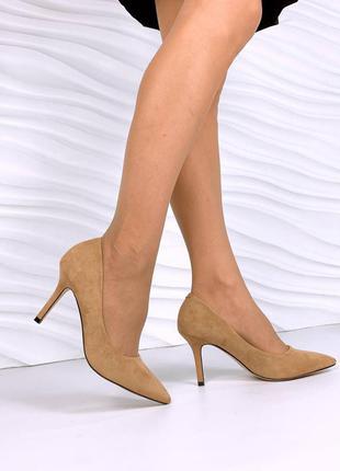 Туфли на каблуке 13596 туфлі жіночі