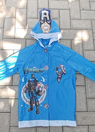 Marvel avengers дождевик детский