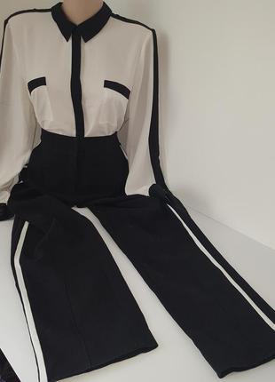 Костюм брюки блузка