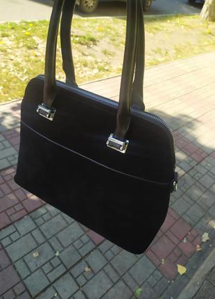 Сумка женская / замшевая сумка