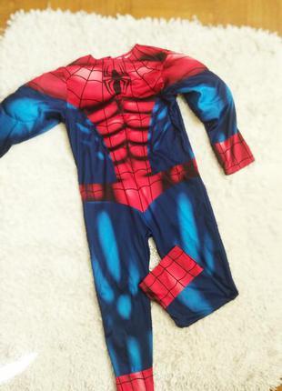 Костюм спайдермен человек-паук детский комбинезон костюм людина павук марвел