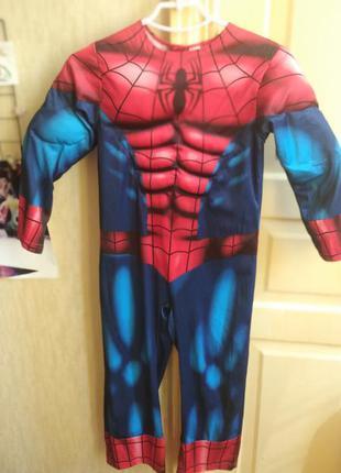 Дюдина-павук костюм человек паук спайдермен марвел детский spider-man
