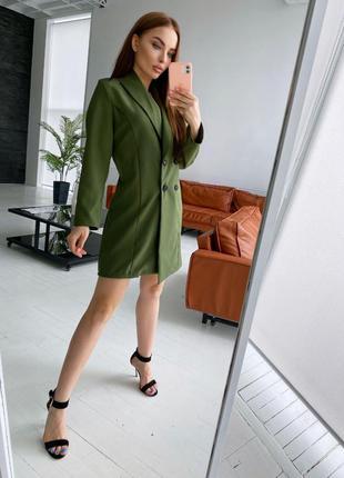 Шикарное платье пиджак