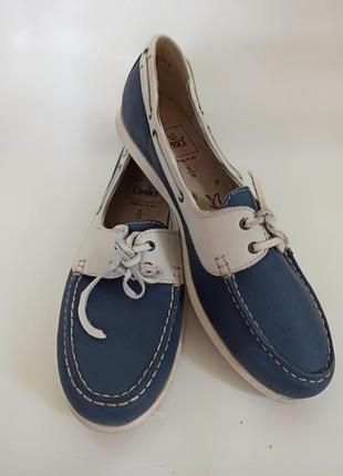 Caprice мокасины женские.брендовая обувь stock