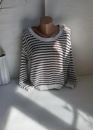 ✨легенький, короткий  светр , сітка ✨7 фото
