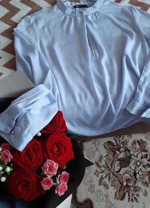Oodji блуза небесного кольору