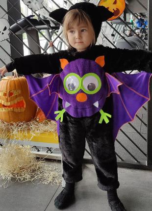 Костюм летучей мышки на хеллоуин