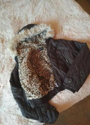 Короткая стеганая курточка sarah chole