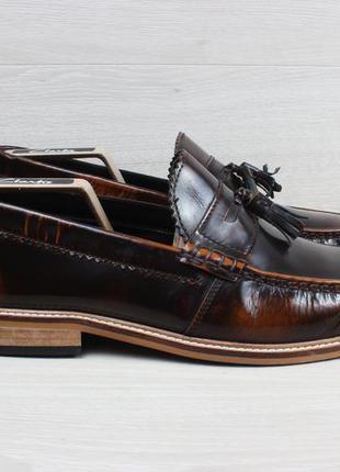Мужские кожаные туфли / лоферы lambretta, размер 44 - 45