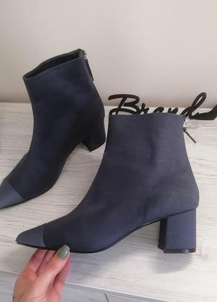 Шикарные ботинки ботильены