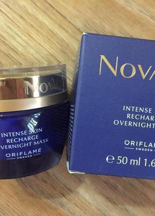 Ночная маска для интенсивного восстановления кожи novage intense skin recha