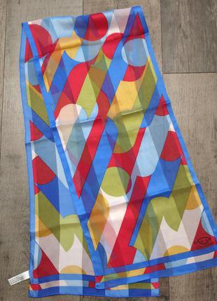 Шёлковый шарф oscar de la renta