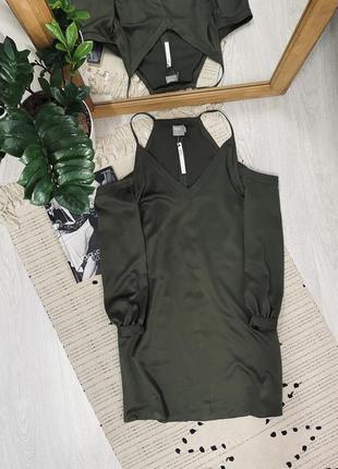 Нове шикарне атласне плаття від asos🌿