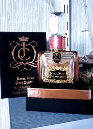 Juisy couture royal rose оригинал 10мл отливант парфюмированная вода