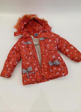 Зимняя куртка для девочки xinhaoda