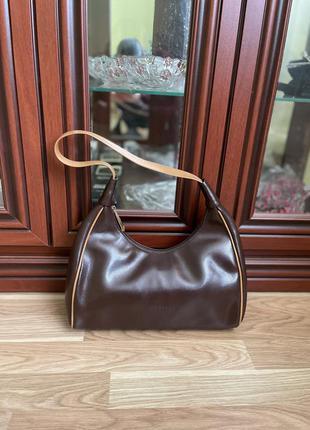 Итальянская сумка montini оригинал кожаная шикарная