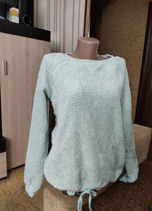 Мягенький тепленький пижамный свитерок