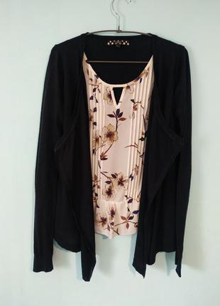 Кардиган-блуза 2 в 1