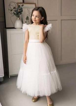 Детское пышное платье для девочки патриция 2