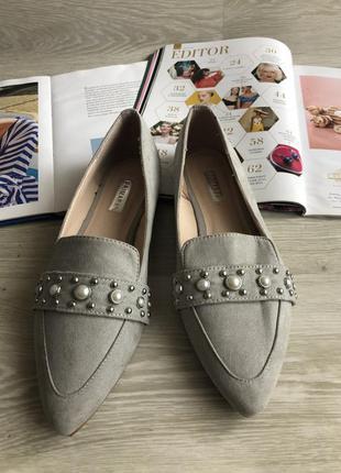 Стильные туфли лоферы
