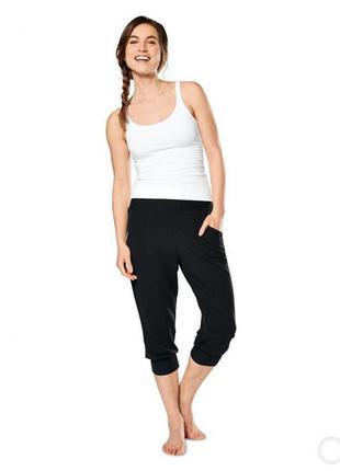 Спортивные брюки капри  вискоза бриджи,капри ,шорты с карманами фирмы tcm active by tchibo германия.s-ka.