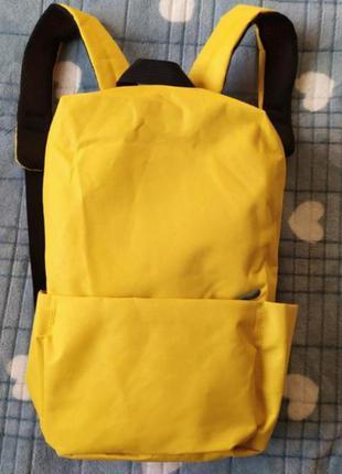 Жовтий рюкзак на кожен день