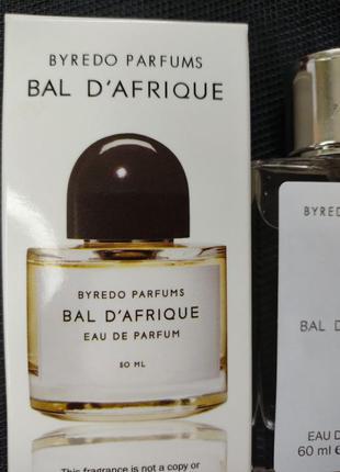 Byredo bal d'afrique парфюм унисекс   60 мл