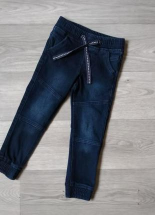 Термо джинсы джоггеры джинси джогери lupilu 86 92 104 110