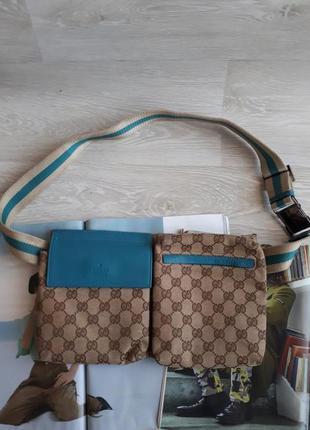 Поясная сумка gucci оригинал