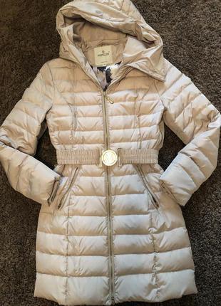 Пуховик moncler. зимняя курточка