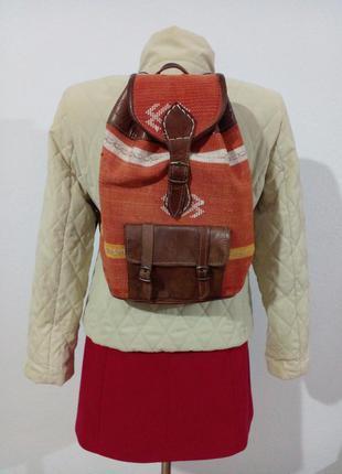 Красивый рюкзак в этно стиле