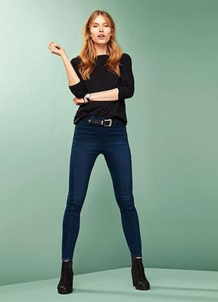 Джеггинсы треггинсы джинсы размер 48-50 наш tchibo тсм