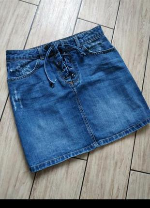 Юбка юбочка джинсовая юбка