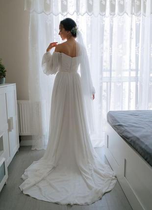 Утонченное свадебное платье odri